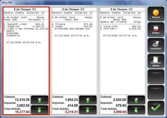 Dividir Cuentas